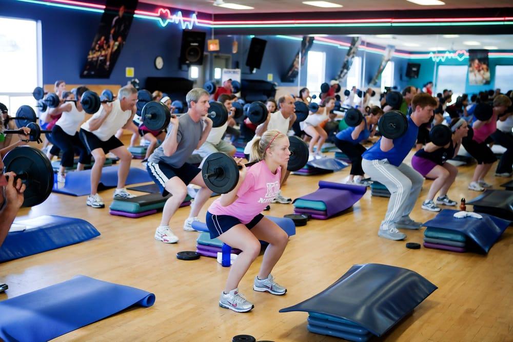 Les Mills Group Fitness classes - BodyPUMP