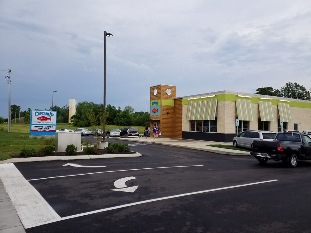 Captain D's: 631 Tennessee Highway 76East, White House, TN
