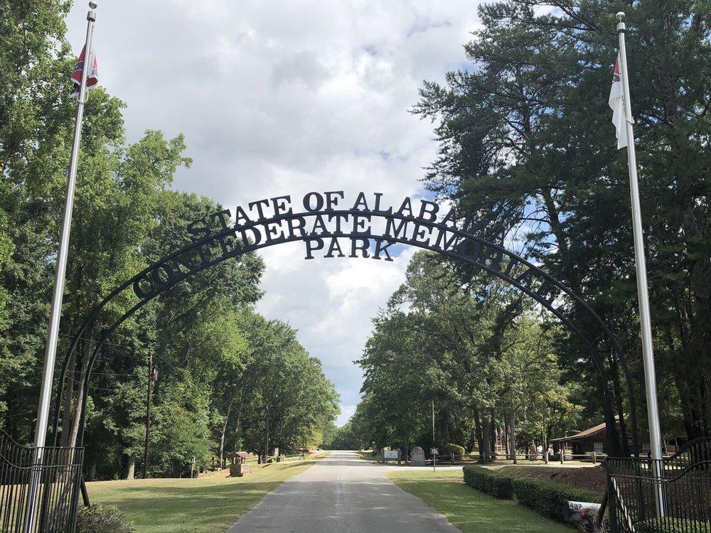 Confederate Memorial Park: 437 County Road 63, Clanton, AL