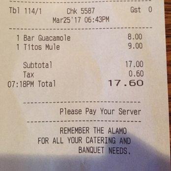 The Alamo Bar & Grill - Order Food Online - 87 Photos ...