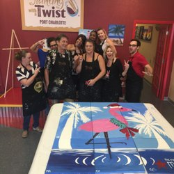 Painting with a twist kunst vin 18700 veterans blvd for Painting with a twist charlotte nc
