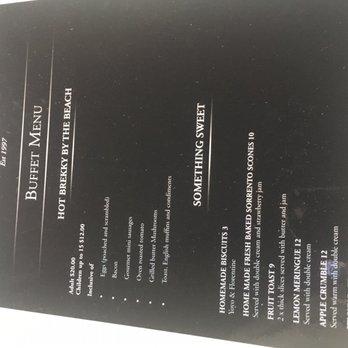 All smiles sorrento menu