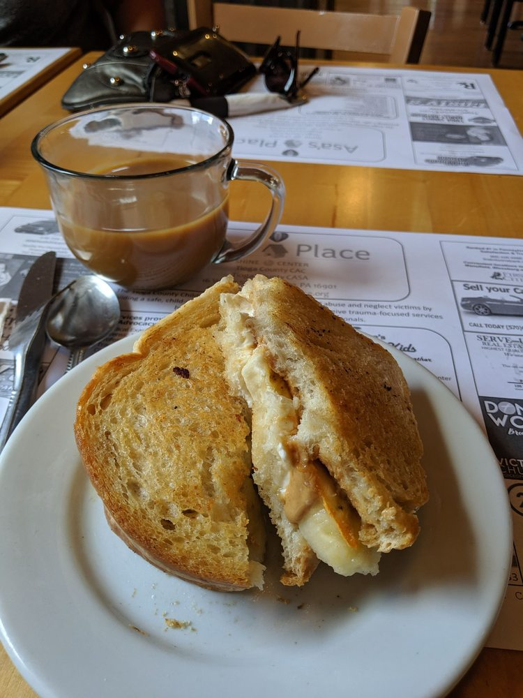 Conspiracy Coffee, Cafe & Bakery: 11 West Wellsboro St, Mansfield, PA