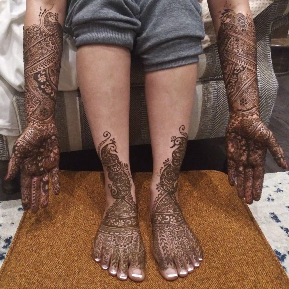 Jumana Bootwala, Henna Designer: Katy, TX