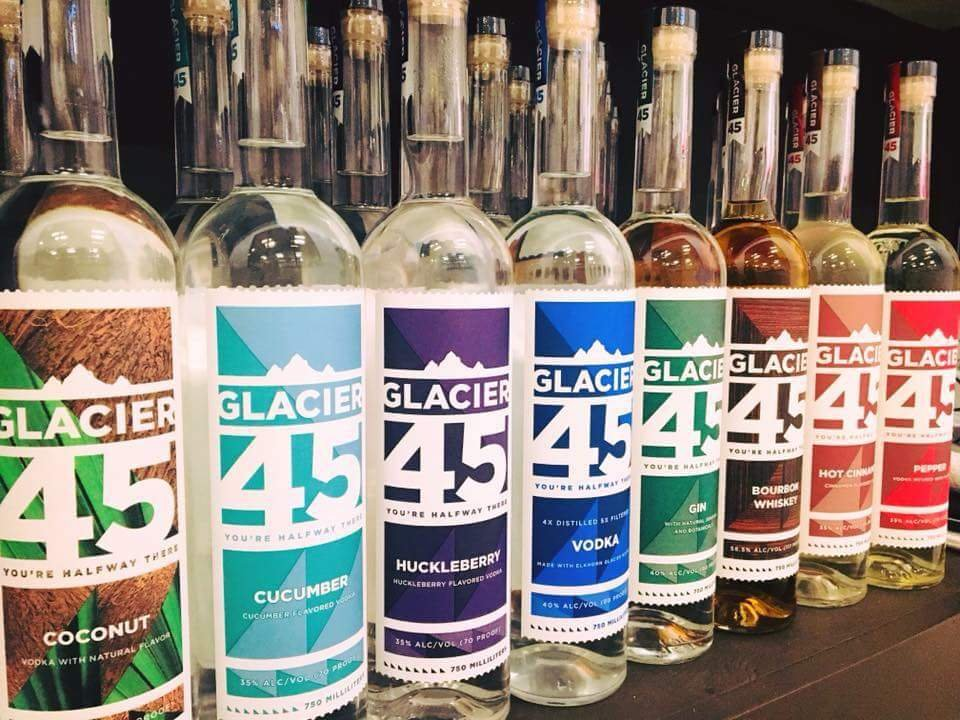 Glacier 45 Distillery: 1901 Main St, Baker City, OR