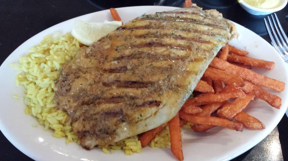 Barramundi with smoky paprika mustard butter yelp for Bluesalt fish grill