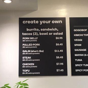 Gogobop korean rice bar 110 photos 75 reviews asian for Design your own restaurant