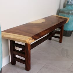 Photo Of Chastain Creations   Carlsbad, CA, United States. Custom Bench  Made By