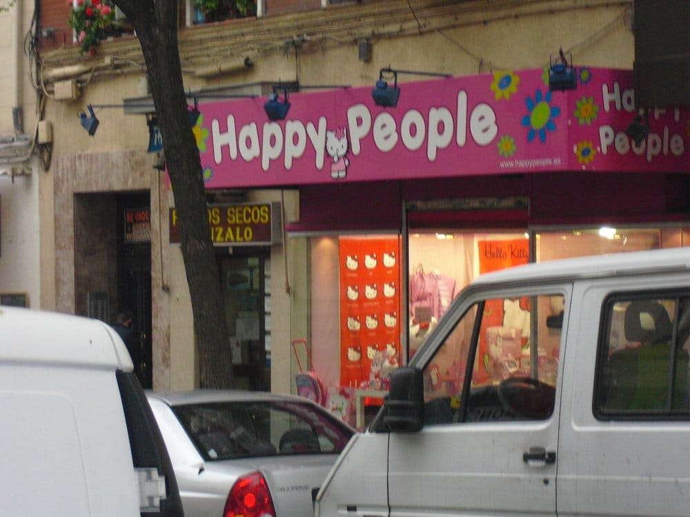 Happy People Hello Kitty