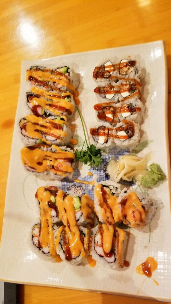 Yuki Sushi: 9419 Common Brook Rd, Owings Mills, MD