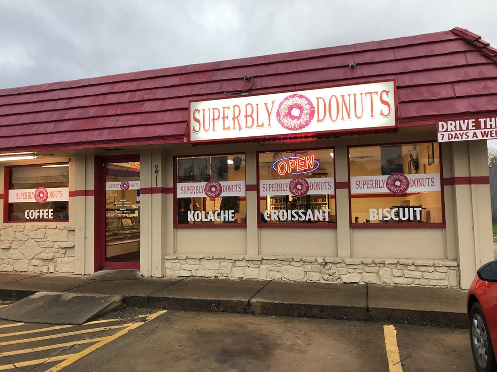 Superbly Donuts: 271 US-412, Siloam Springs, AR