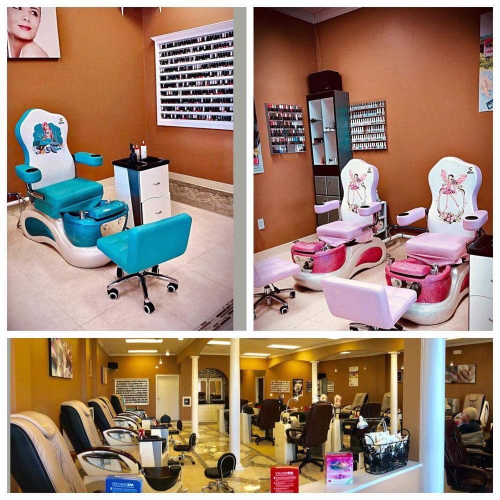 Aleena Nails Spa: 9357 Cherry Valley Ave SE, Caledonia, MI