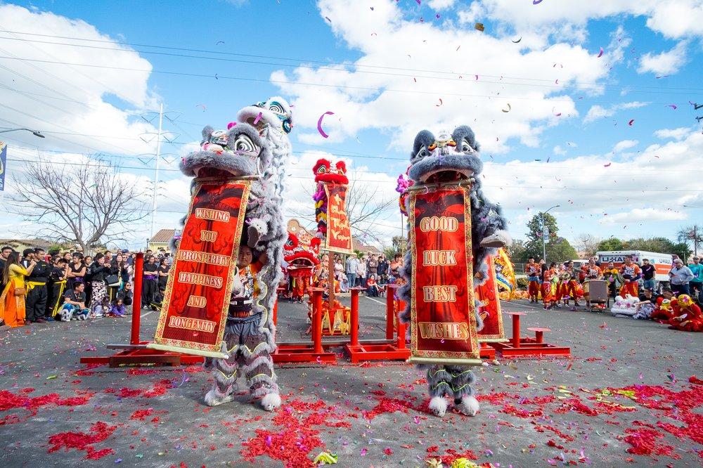 Teng Fei Lion Dance