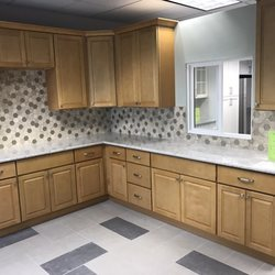 photo of granite expo vacaville ca united states m17 natural maple cabinet - Kitchen Expos