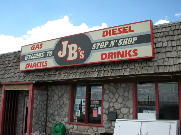JB's Stop-N-Shop: 604 Lincoln Hwy, Medicine Bow, WY