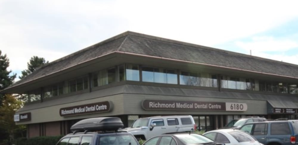 We're on the second floor of the Richmond Medical Dental