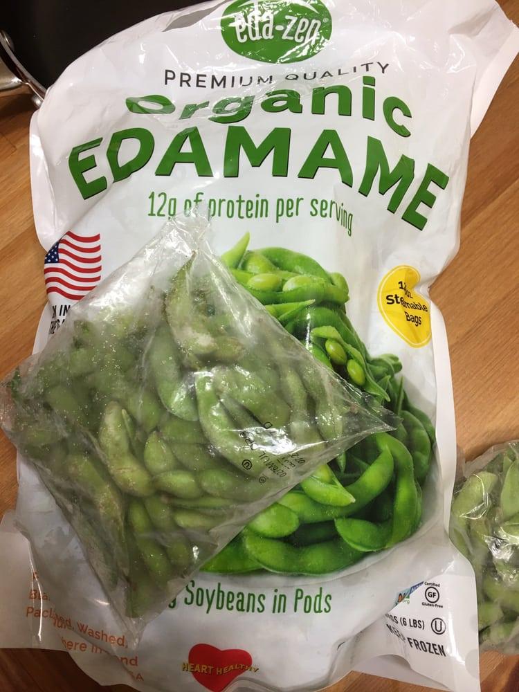 Costco Auto Repair >> Organic edamame beans. Individually wrapped. - Yelp