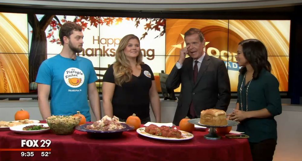 Did You See The Pierogie Kitchen Team On Fox 29 S Good Day