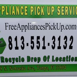 Free Appliance Pickup Removal Tampa - Request a Quote - Junk Removal