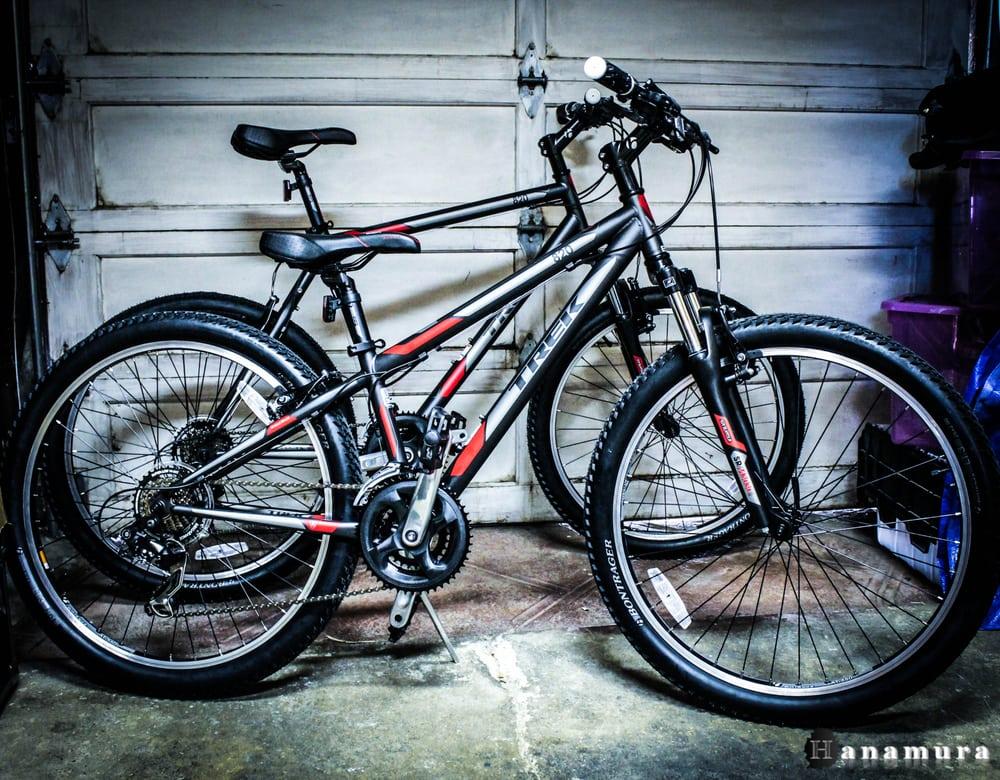 5fc6e287a64 His and hers beginner mountain bikes. 2014 Trek 820 - Yelp