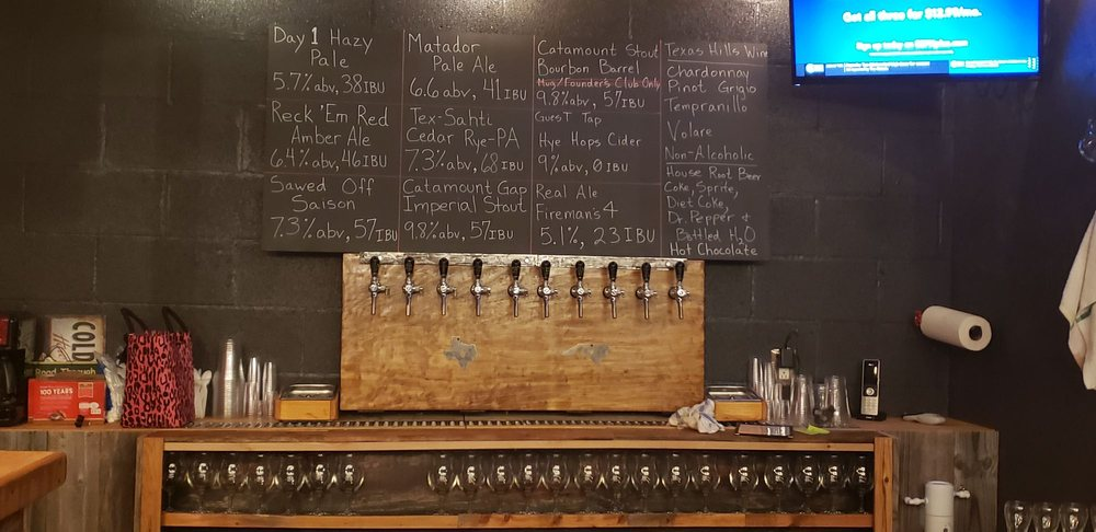 Reck 'Em Right Brewing Co.: 102 S Avenue G, Johnson City, TX