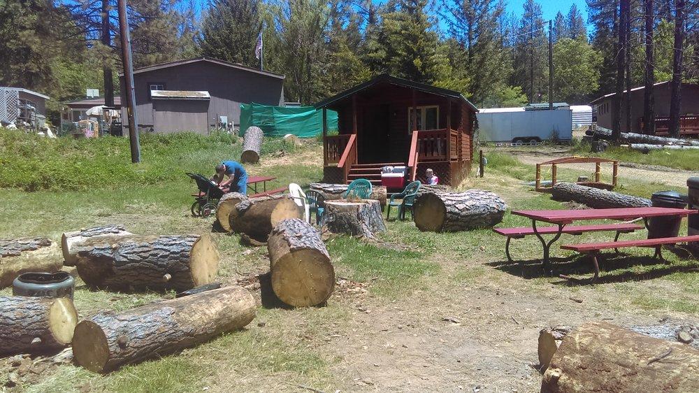 Yosemite westlake campground mobile rv park for Yosemite park camping cabins