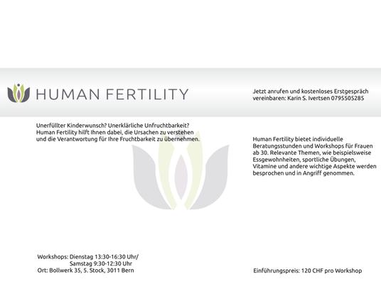 human fertility fruchtbarkeit reichenbachstrasse 42 a zollikofen bern telefonnummer yelp. Black Bedroom Furniture Sets. Home Design Ideas
