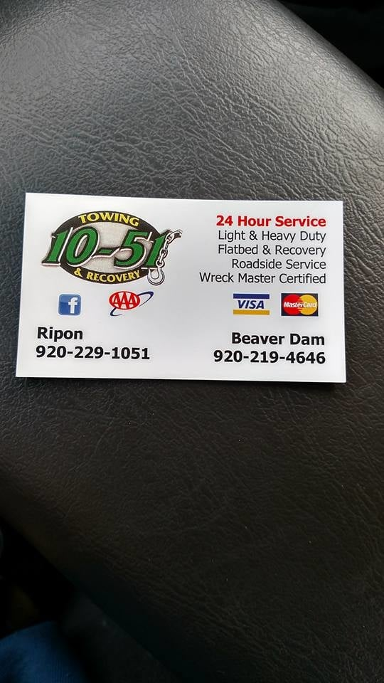 1051 Towing & Recovery - Towing - 1227 Madison St, Beaver