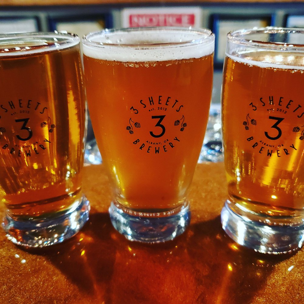 3 Sheets Brewery & Taproom: 136 1st W, Albany, OR
