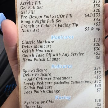 Polish Nail And Spa Prices Hession Hairdressing