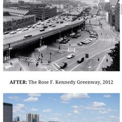 What Restaurants Near Rose Kennedy Greenway