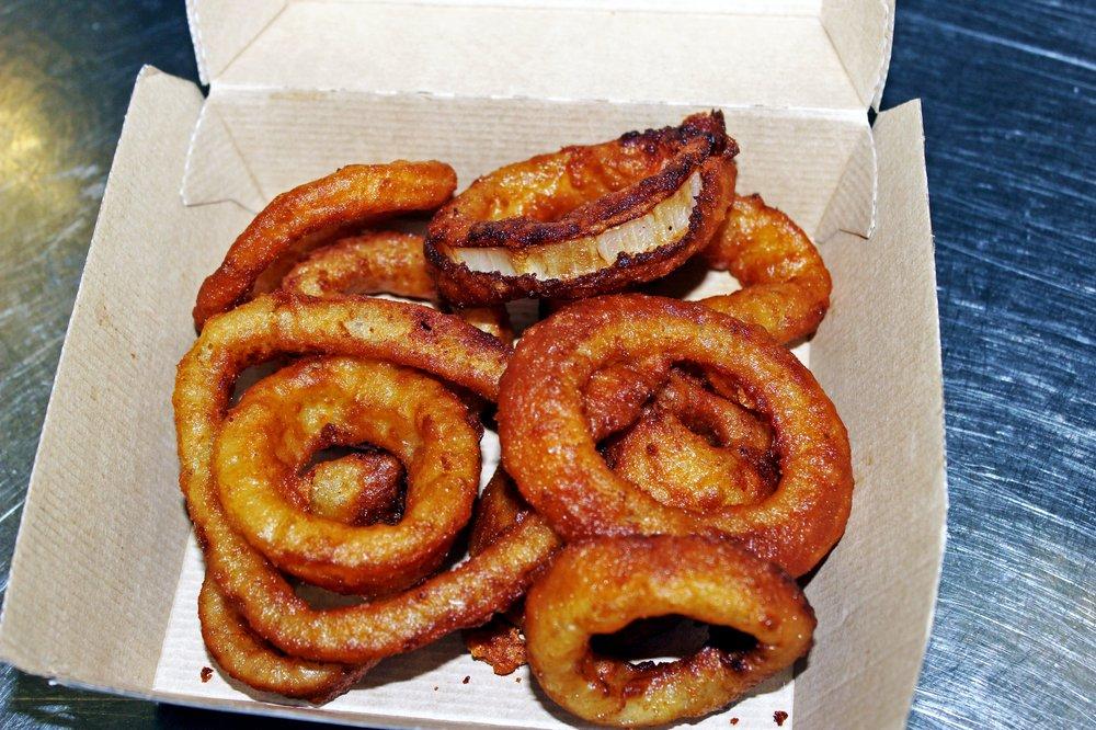 Back Door Burgers & More: 36 Homer's Wharf, New Bedford, MA