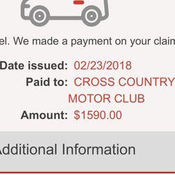 Cross Country Motor Club - (New) 88 Reviews - Roadside