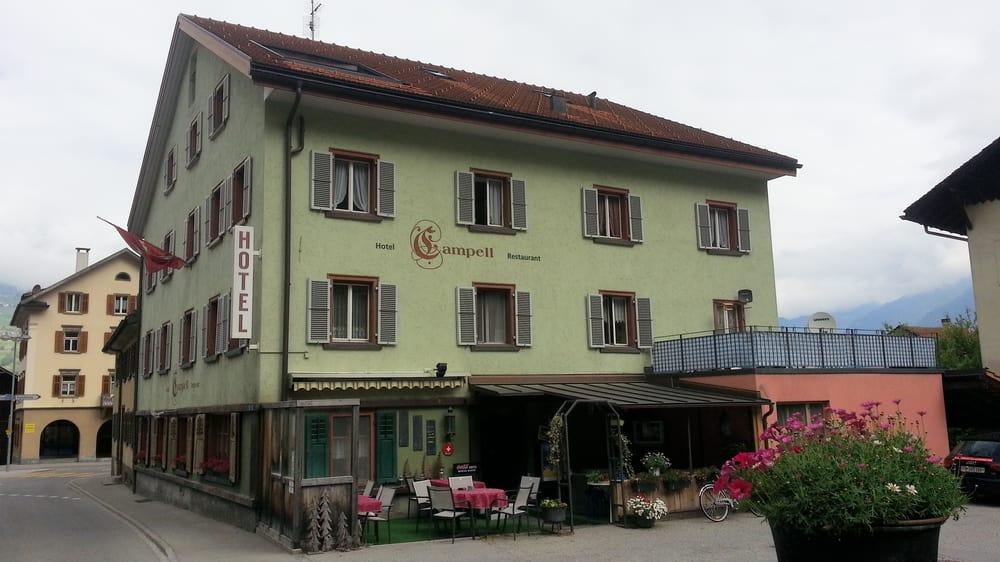 Hotel-Restaurant Campell - Hotels - Platz 41, Sils im Domleschg ...
