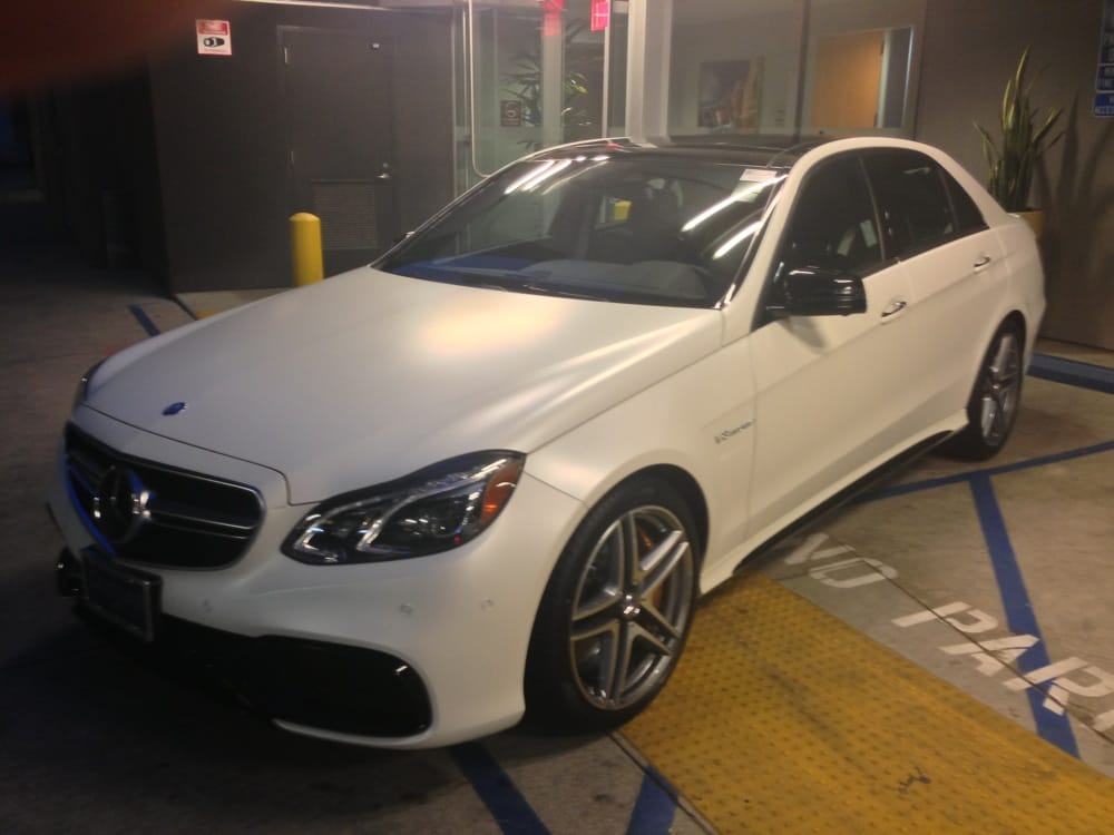Mercedes e63 s 4matic sedan in designo cashmere white for Calstar mercedes benz