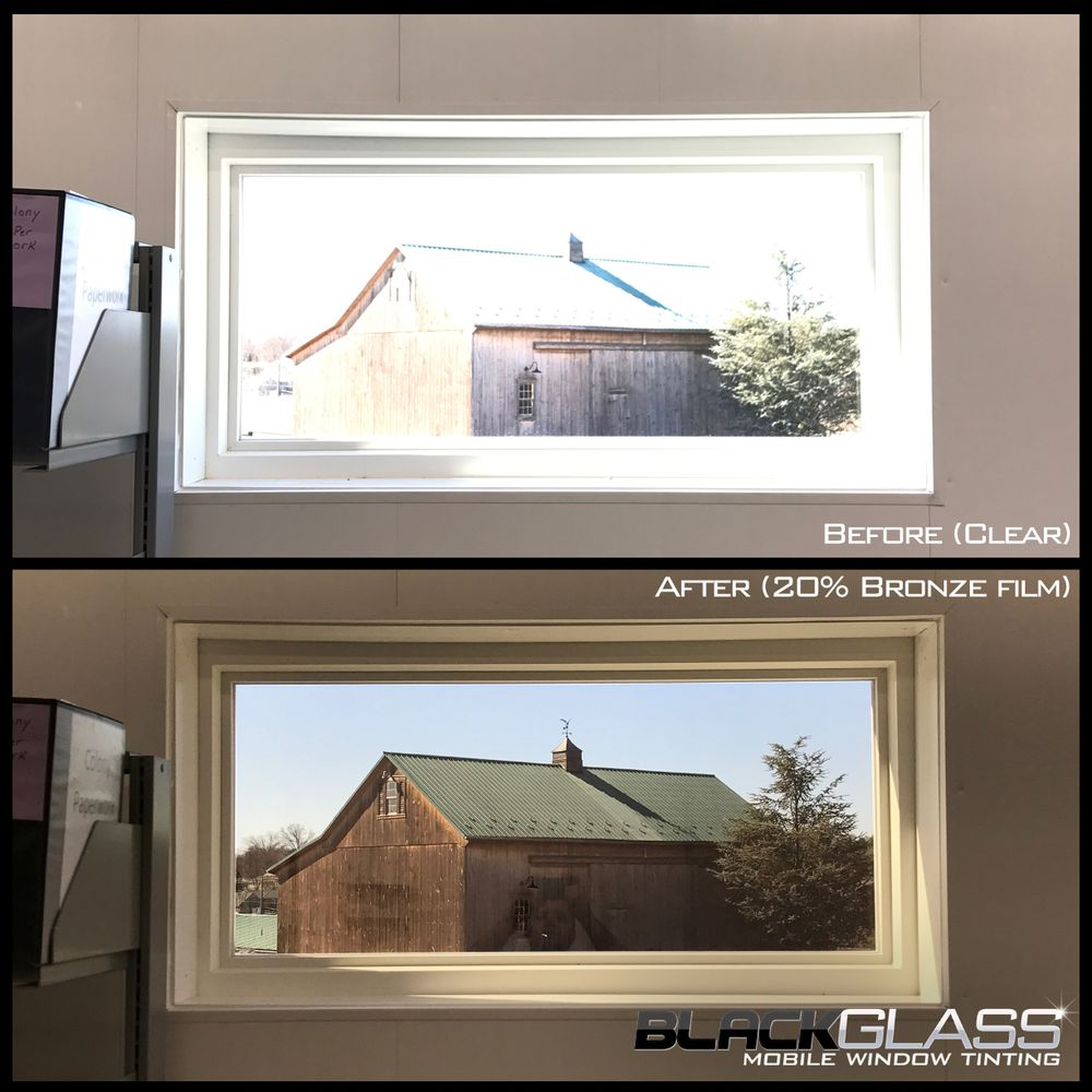 Black Glass Mobile Window Tinting: Center Valley, PA