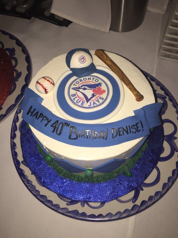A Toronto Blue Jays cake Yelp