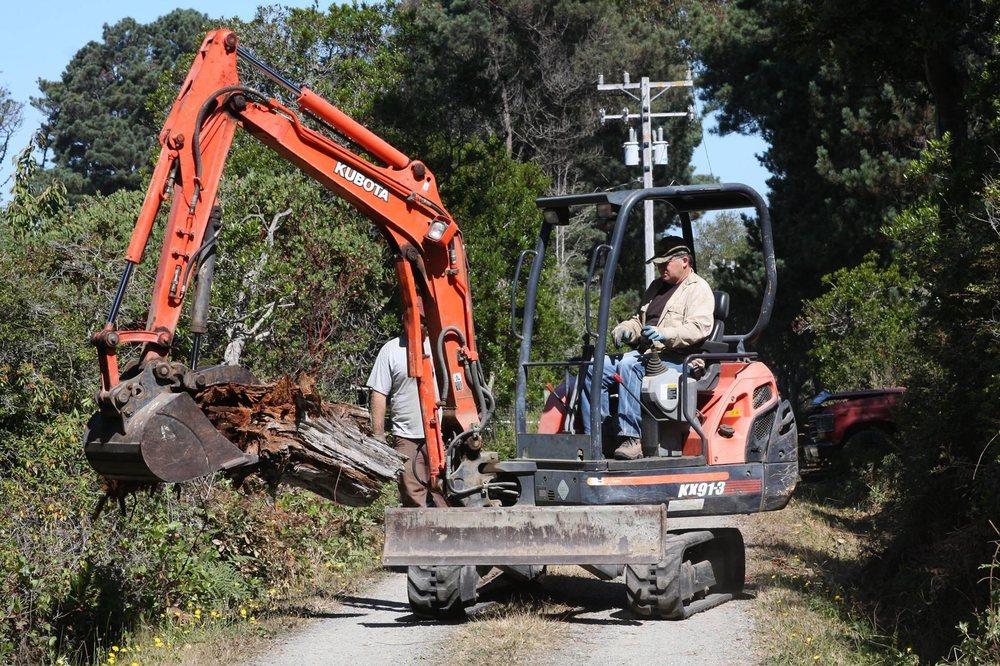 Jerry Beaty Tree Surgery & Tractors: Fort Bragg, CA