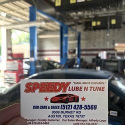 Speedy Lube N Tune - 31 Reviews - Oil Change Stations - 8509 Burnet