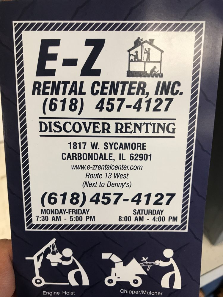 E-Z Rental Center I Nc: 1817 W Sycamore St, Carbondale, IL
