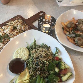 photo of lyfe kitchen cupertino ca united states flatbread quinoa salad - Lyfe Kitchen Cupertino