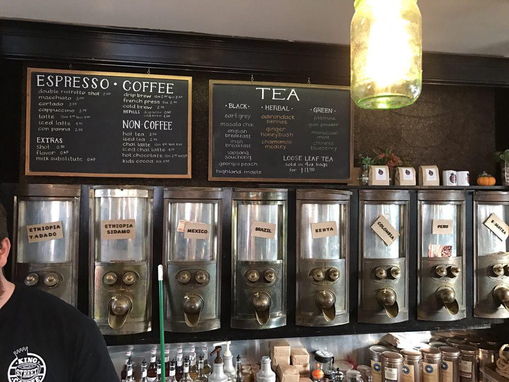 king coffee shop Built on rich italian tradition in south brooklyn.