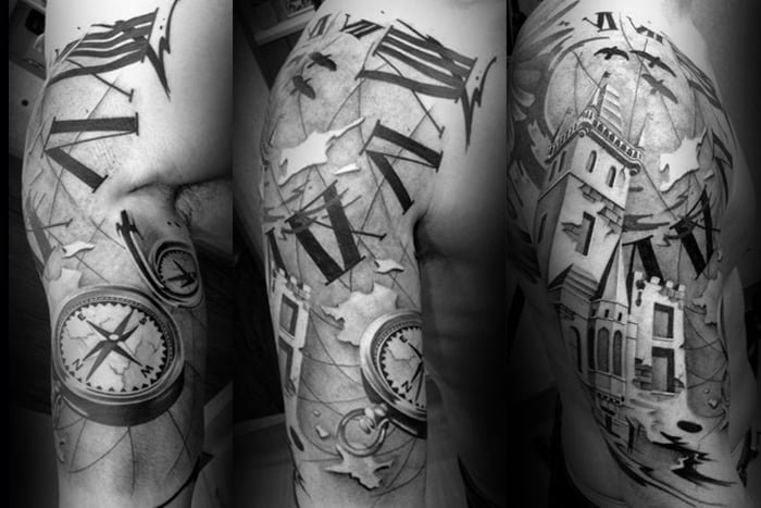 Nic westfall black grey photo for Best realism tattoo artist