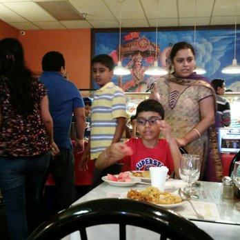 Photo Of Woodlands Indian Vegetarian Restaurant Fairfax Va United States Buffet Time