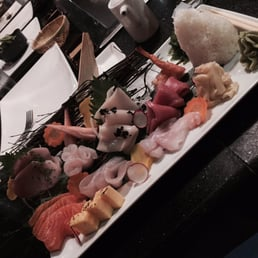 Mizu Hibachi & Sushi - New City, NY, United States. Chirashi plate