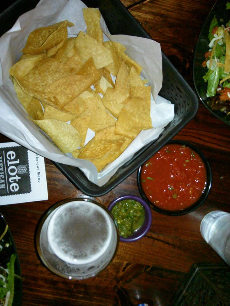 Draft Beer With Chips N Salsa Happy Hour Perfection 2 Yelp