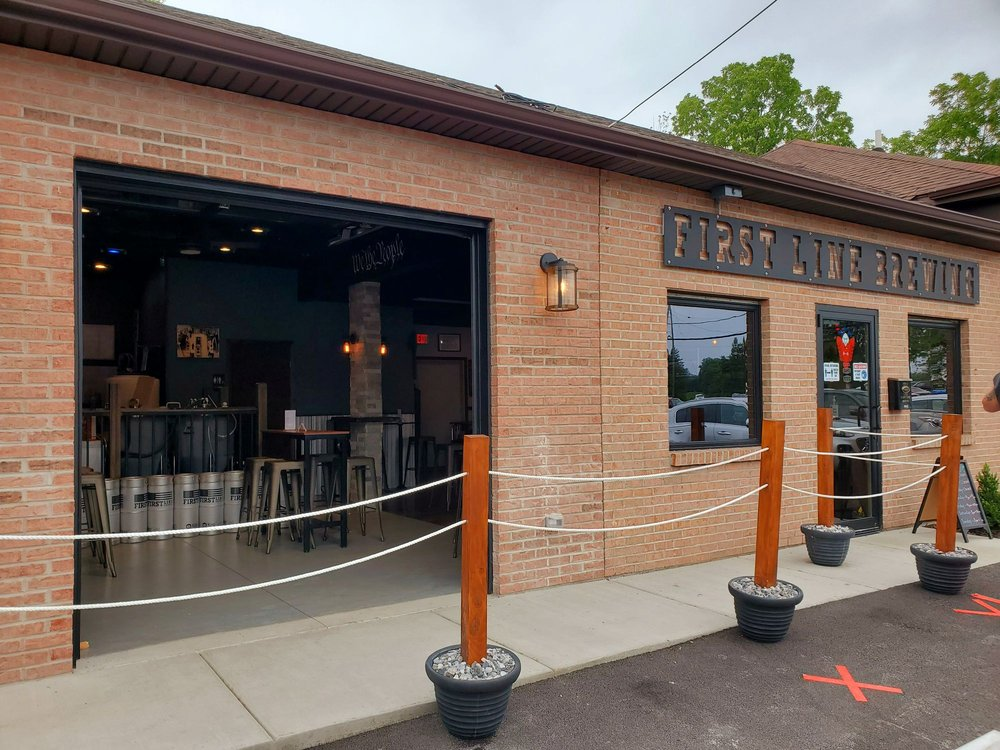 First Line Brewing: 4906 S Buffalo St, Orchard Park, NY