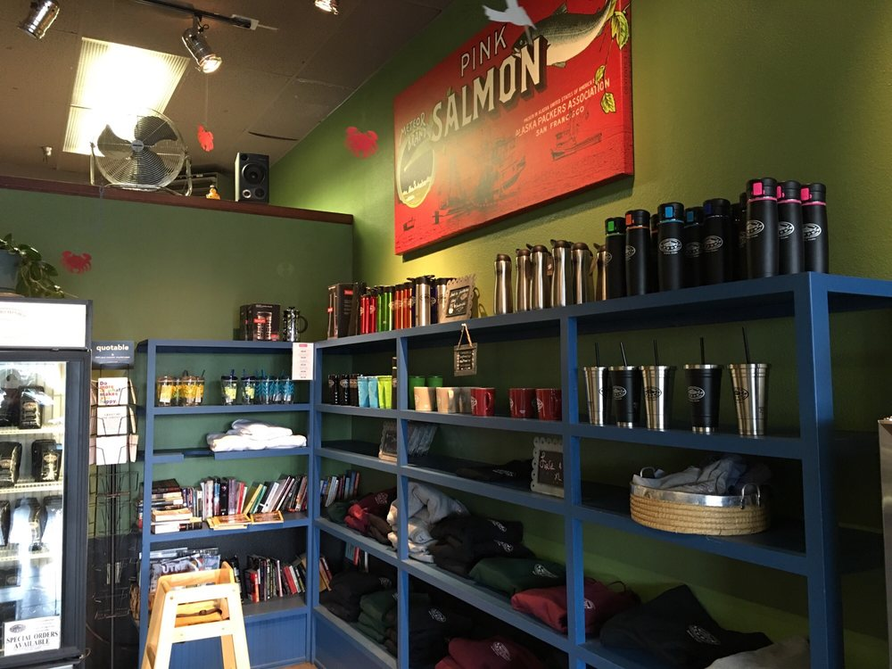 Harborside Coffee & Goods: 210 B Shelikof St, Kodiak, AK
