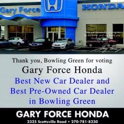 Gary Force Honda - Car Dealers - 2325 Scottsville Rd, Bowling Green