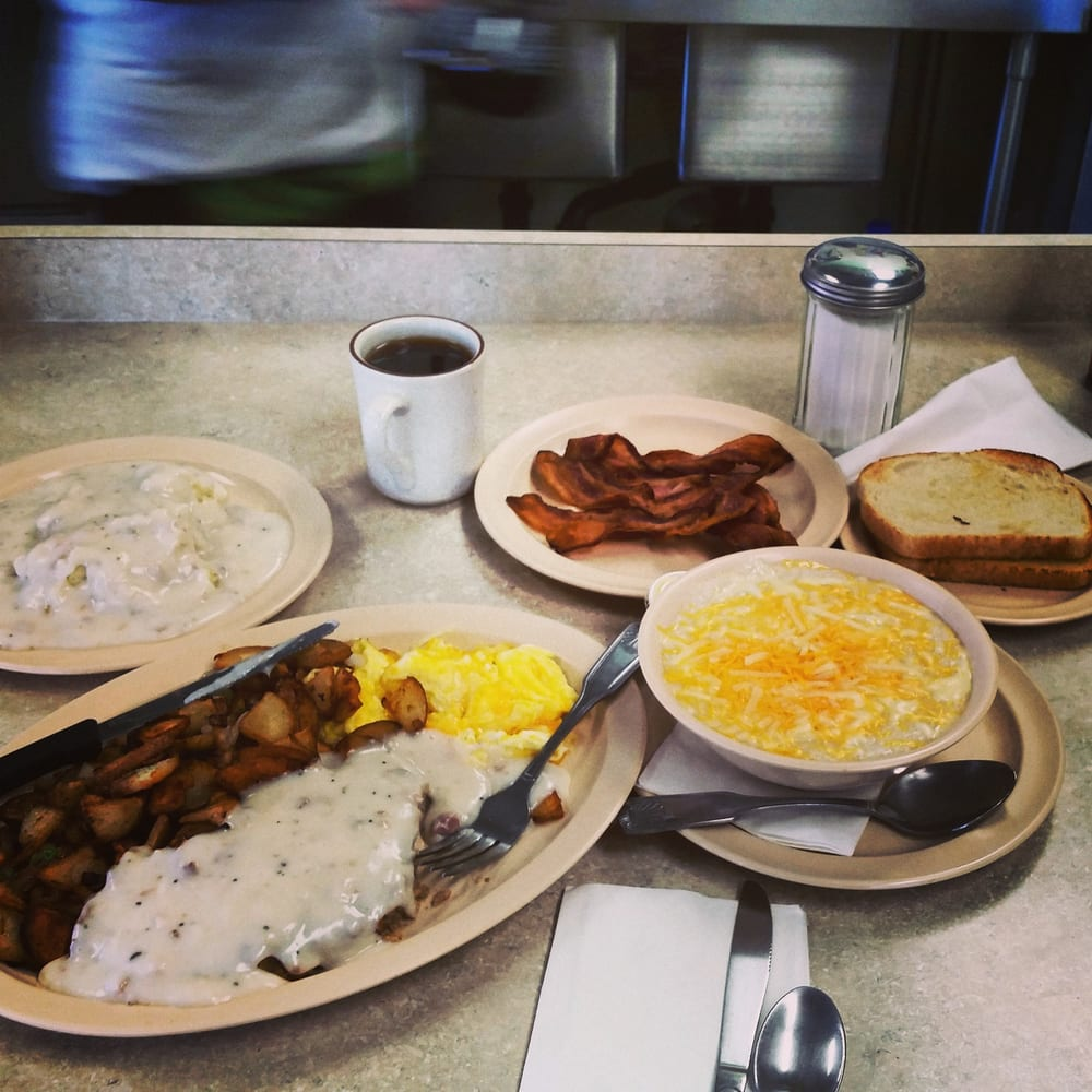 Country Breakfast Cheese Grits Included Yelp